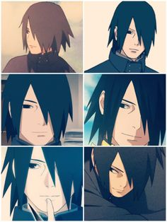 I never found Sasuke hot until this point. Sasuke as an adult.