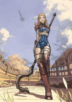 Penelo - Final Fantasy XII by Joshtffx