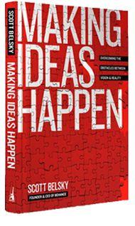 Boek naar ons hart! Make ideas happen- Scott Belksy    Wil jij ook werk maken van je ideeen? Kijk op https://www.facebook.com/hinkstapsprong