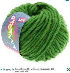 Lana Grossa Lei 100% virgin wool (шерсть мерино) 40 м / 50 г Спицы 12 мм 83.95 грн.