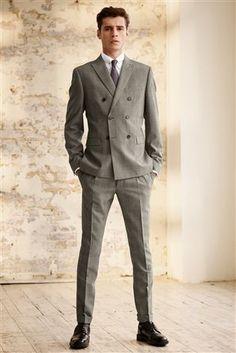 Buy Black White Check Suit db705f8d9