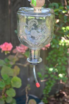 Hummingbird Feeder from Patron bottle E07 by GudwichDesign on Etsy, $25.00