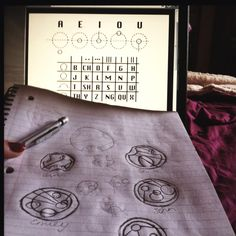 How to write Gallifreyan.... AWESOME!