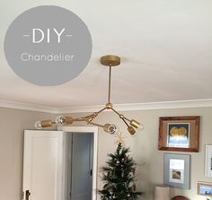 Lighting DIY // Living Room