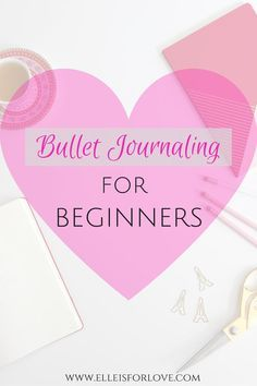 Learn the art of Bullet Journaling: Everything you need to know about the Bullet Journal trend, why it's so useful, how to set it up and how to use it!