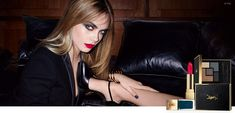 Cara Delevingne Sizzles in YSLs New Fall Makeup Ads