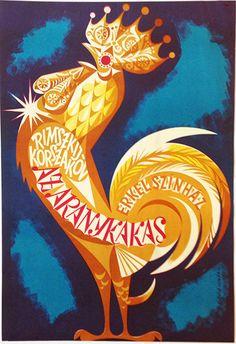 Rimszkij Korszakov: The Golden Cockerel at Erkel Theatre (Köpeczi Bócz, István  -1968)