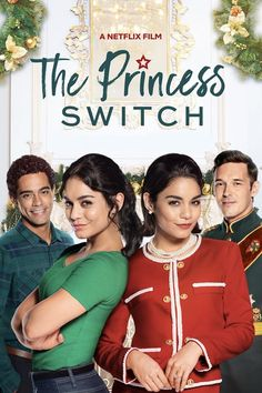 The Princess Switch What happens when Chicago baker Stacy meets a soon-to-be princess who looks exactly like her? Well, they trade places, of course. This holiday season join in the mischief as Vanessa Hudgens stars in The Princess Switch. Tv Series Online, Movies Online, Rent Movies, 2018 Movies, Movie List, Movie Tv, Film Romance, Sam Palladio, Netflix November