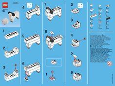 My Favourite: Lego instruction sheep