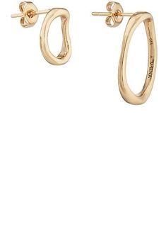 VIOLA.Y JEWELRY Mismatched Oval Stud Earrings  - Earrings - 505390452