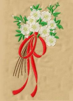 CHRISTMAS ROSE COLLECTION - Enigma Embroidery | OregonPatchWorks