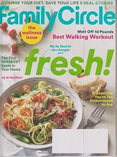 Family Circle March 2017 Fresh! The Wellness Issue