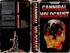 Cannibal Holocaust (Cover VHS)