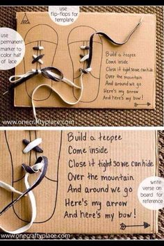 I like the idea of using a flip flop on cardboard to make a template.