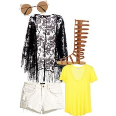 give me by inkcat on Polyvore featuring polyvore fashion style American Vintage Pussycat H&M River Island