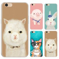 Fashion Design Warm Color Animals Series Phone Case For Oppo A39/A57 5.2-inch Painted TPU Soft Case