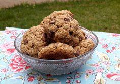 Chocorango: Cookies de Aveia com Gotas de Chocolate - Estou de...