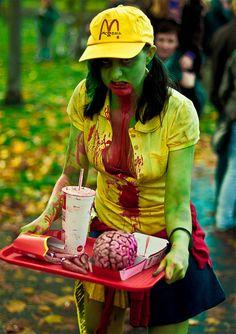 amazing zombie costume!
