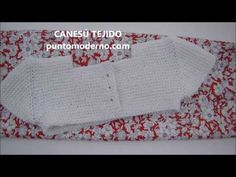 CANESÚ PARA VESTIDO O PELELE DE BEBÉ-ENGLISH PATTERN - YouTube