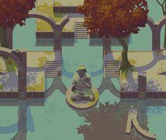 Statue by NostalgicTree on DeviantArt 2d Game Art, Video Game Art, Pixel Life, Classic Rpg, Pix Art, Pixel Art Games, Art Prompts, Game Concept Art, Art Et Illustration