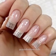 Learn how to create fiber glass nails. Book appointments and connect with beauty-savvy professionals and customers today! Diy Acrylic Nails, Summer Acrylic Nails, Diy Nails, Summer Nails, Spring Nails, Nail Art Designs Videos, Nail Art Videos, Nail Designs, Manicure Pictures