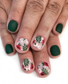 Surprising Spring Flower Nail Art Designs To Try In 2020 – ShelbyFashions Spring Nail Colors, Spring Nails, Spring Nail Art, Flower Nail Designs, Nail Art Designs, Floral Designs, Blog Designs, Painted Nail Art, Hand Painted