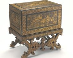 Chest with Stand - Asian Civilisations Museum Treasure Boxes, Casket, Tortoise Shell, Civilization, Cabinets, Exotic, Decorative Boxes, Museum, Asian