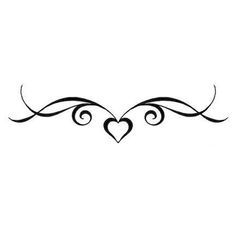 tribal tattoo on lower back - Google Search