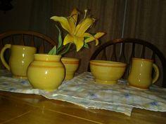 Breakfast set- wedding gift. Heritage pottery Deidre Morgan