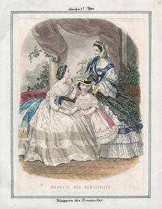 August, 1860 - Magasin des Demoiselles