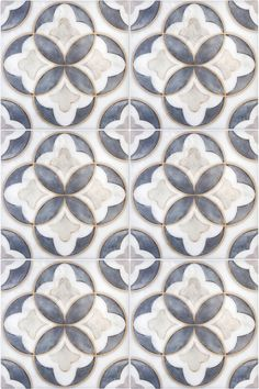 The Mullholland Pattern (Charcoal) shown on Carrara Das auf Carrara gezeigte Mullholland-Muster (Charcoal) 2018 Artisan Stone Tile Designs Floor Patterns, Tile Patterns, Textures Patterns, Wallpaper Free, Motif Art Deco, Art Deco Tiles, Bijoux Art Nouveau, Diy Vintage, House Tiles