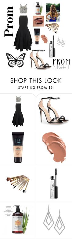 """""""Prom"""" by glamorpeace ❤ liked on Polyvore featuring Jovani, Gucci, Maybelline, MAC Cosmetics and ABS by Allen Schwartz"""