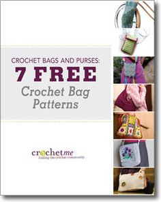 Don't forget to download your free crochet bags patterns eBook!