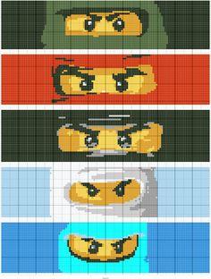 Lego   Designed by Regina Souverein   Stitch Fiddle
