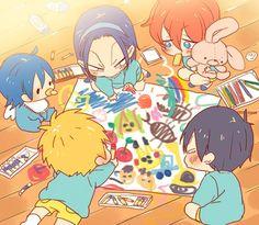 Aw this is adorable! Kawaii Chibi, Anime Chibi, Kawaii Anime, Manga Anime, Yowamushi No Pedal, Fanart, Roy Mustang, Anime Base, Otaku
