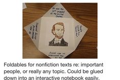 Foldables: use for Charlemagne or William the Conqueror, crusaders, etc.