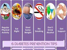 6 Diabetes Type 2 Prevention Tips
