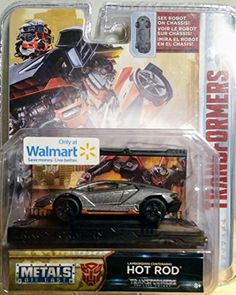 Jada 1:64 Transformers The Last Knight Hot Rod Lamborghini Centenario -- Check out this great product.(It is Amazon affiliate link) #usa