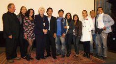 Alejandro Rossi, Rosamaría Avarez-Gil, Carmen Masías,Damaris y los actores del gran reparto que conforman Coliseo.