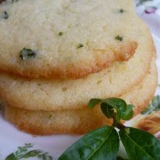 Ellen's Lemon Verbena cookies - Herbal Gardens - Longmeadow Recipe