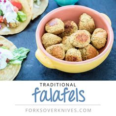 I love falafels But I don't want all the added fat that would normally be in a deep-fried dish. So I bake them instead, and the results taste as good as the fried original.