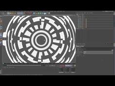 Cinema 4d Sci Fi circles UI tutorial - YouTube