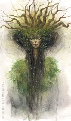 Here is a peek at deeply ethereal painting, 'Queen', currently exhibiting at in their double-artist show 'A World of Fae' Krab Jab Studio is also exhibiting at this. Forest Creatures, Magical Creatures, Fantasy Creatures, Fairy Art, Fantastic Art, Faeries, Art Inspo, Dragons, Art Reference