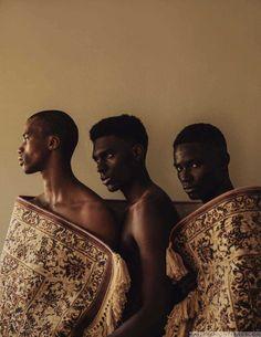Male Fashion Trends: Reatile Mohlaoli, Okechukwu Ojukwu y Newton Igwele para BLNC Magazine por Michael Oliver Love
