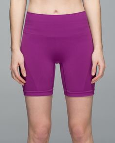 Lululemon Sculpt Short in Regal Plum Lightweight, sweat-wicking, versatile—say hello to our go-to short! The medium-rise waistband helps keep us covered whether we're folding forward or bending over our handle bars, while a gusset-free design moves bulky seams away from our lady bits to help keep chafing at bay. •lightweight, sweat-wicking fabric helps keep you feeling cool and dry •seamless construction reduces bulk to help keep chafing at bay •body-mapped Mesh down the side for extra…