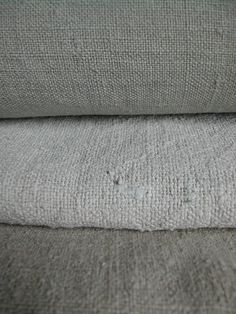 French century dyed linen and hemp sheets * update: No 9 sold update: No 10 also sold - thank you!