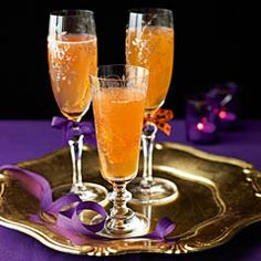Clementine Prosecco cocktail - Sainsbury's Magazine