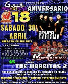 18 Aniversario de los Dueños del Mambo #sondeaquipr #duenosdelmambo #thejibaritos2barrest #utuado