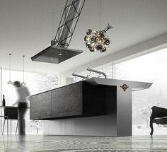 Upscale, user-friendly kitchen