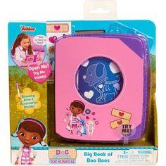 Disney Doc McStuffins Toy Hospital Big Book of Boo Boos